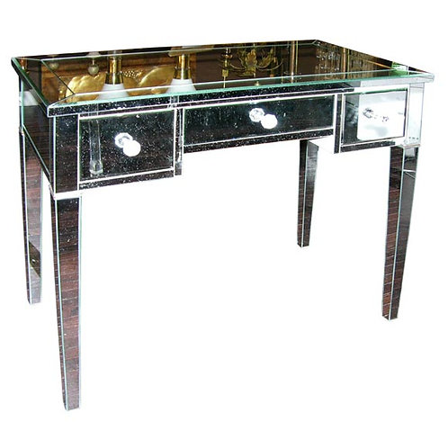 Classic Modern Mirrored Desk