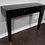 Thumbnail: Black Glass Wall Mount Console Table