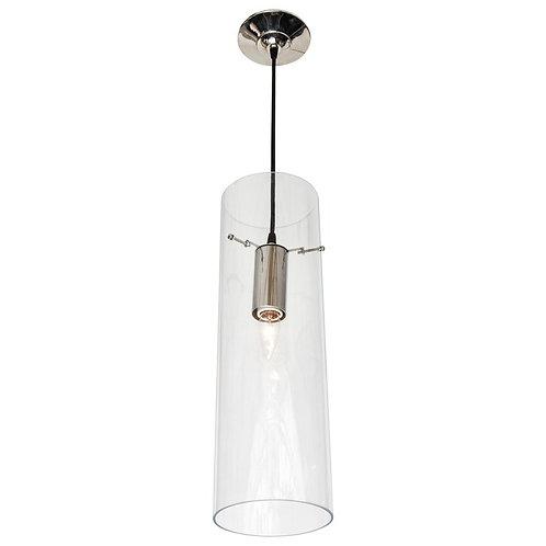 Single Tubular Acrylic Pendant Light
