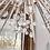Thumbnail: Custom Austrian Crystal Spiked Sputnik Chandelier