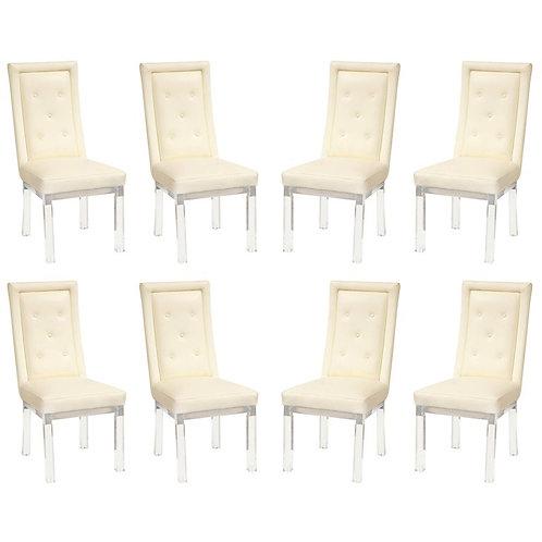Set of 8 Charles Hollis Jones Dining Chairs