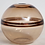 Thumbnail: Signed Crepax vase in tobacco color Murano glass