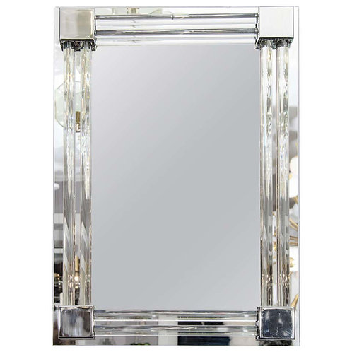 Custom Glass Rod Mirror