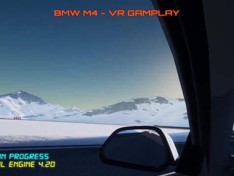 BMW M4 SnowTrack 1min Gameplay Demo.mp4