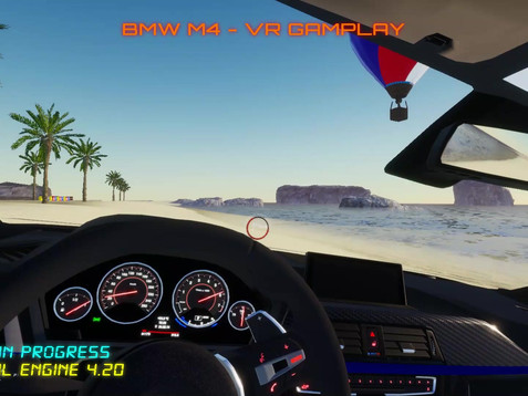 BMW M4 The Beach 1min Gameplay Demo.mp4