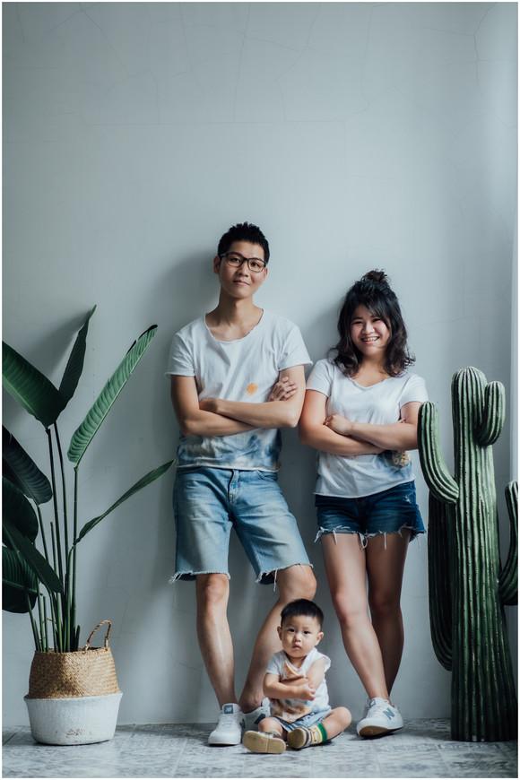 親子寫真 / 全家福 / 柴犬 / 寶寶寫真 / 台北板橋攝影