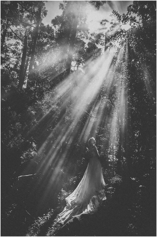 黑森林 / 花卉試驗中心 / 但吮沙崙海邊 / 素人婚紗 / 自然系婚紗