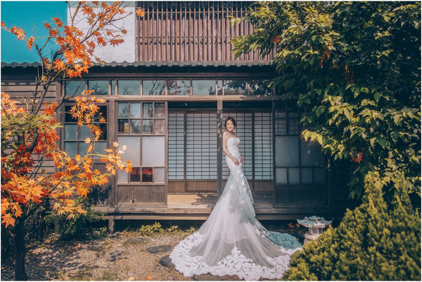 淡水莊園 / 素人婚紗 / 自然系婚紗
