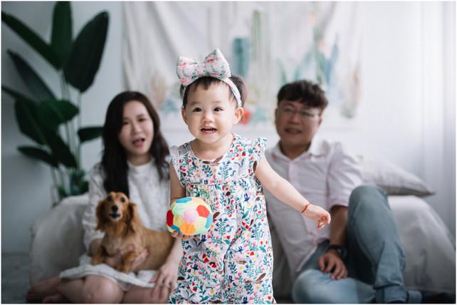 禹臻 / 親子寫真 / 全家福 / 寶寶寫真 / 台北板橋攝影