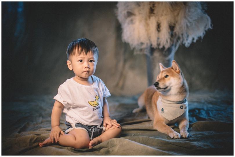 板橋親子寫真 / 台北親子寫真 / 個性寫真 / 雜誌風 / 素人寫真 / 全家福 / 寵物寫真 / 柴犬