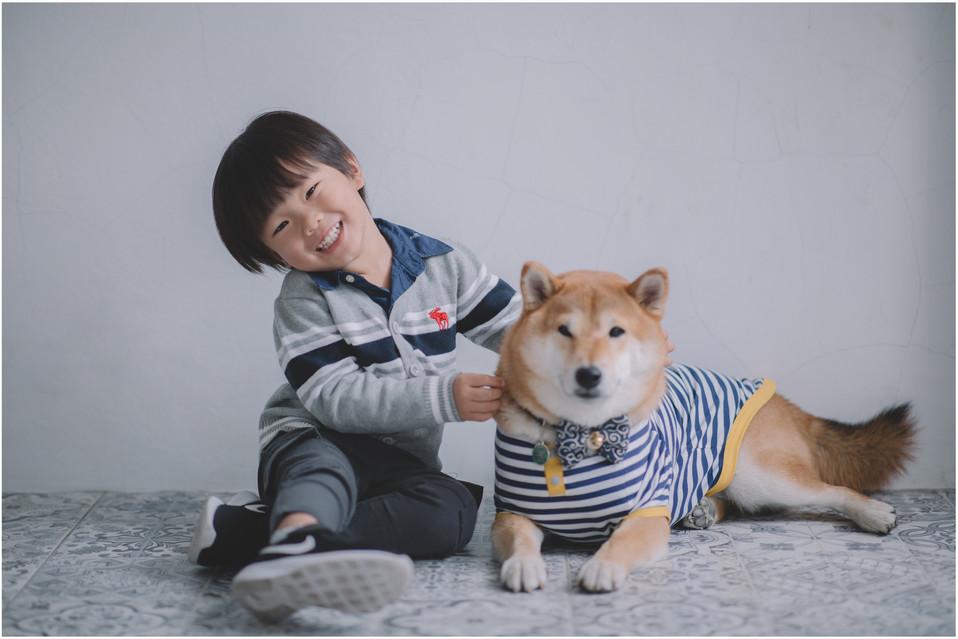 秋盈 / 親子寫真  / 寵物寫真 / 親子婚紗 / 全家福 / 素人寫真 / 柴犬