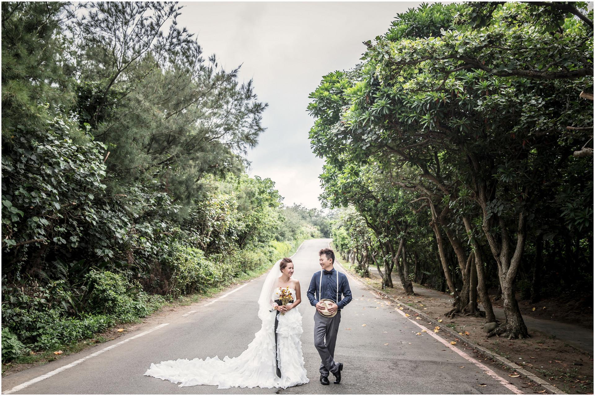 寵物婚紗 / 蘆洲河堤公園 / 自然系婚紗 / 素人婚紗