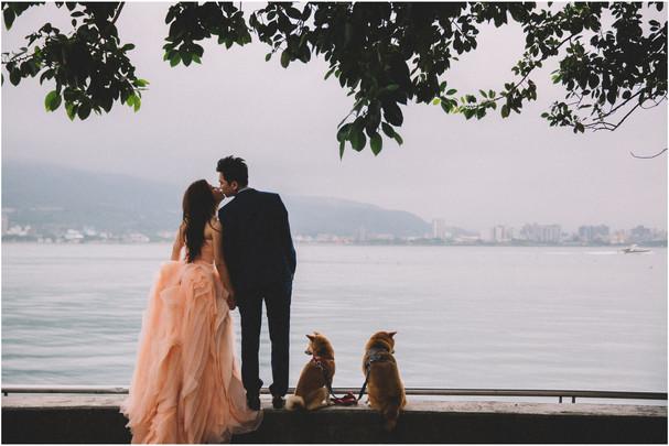 淡水老街 / 砲台公園 / 沙崙海邊 / 寵物婚紗 / 自然捲棚拍 / 素人寫真