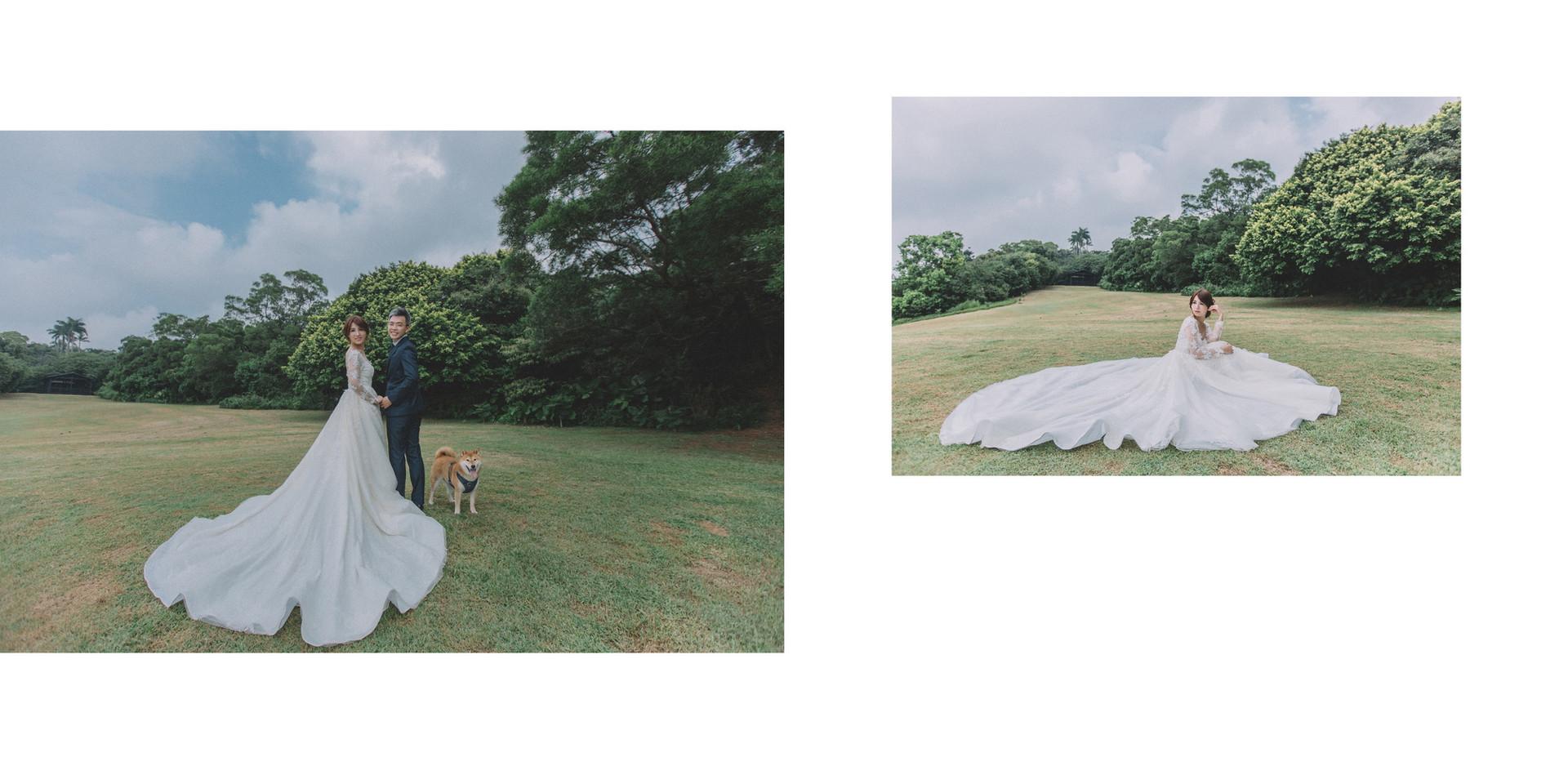 砲台公園 / 淡水老街 / 沙崙海邊 / 寵物婚紗 / 自然捲棚拍 / 素人寫真