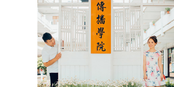 花卉試驗中心 / 輔仁大學 / 校園婚紗 / 寵物婚紗 / 素人寫真