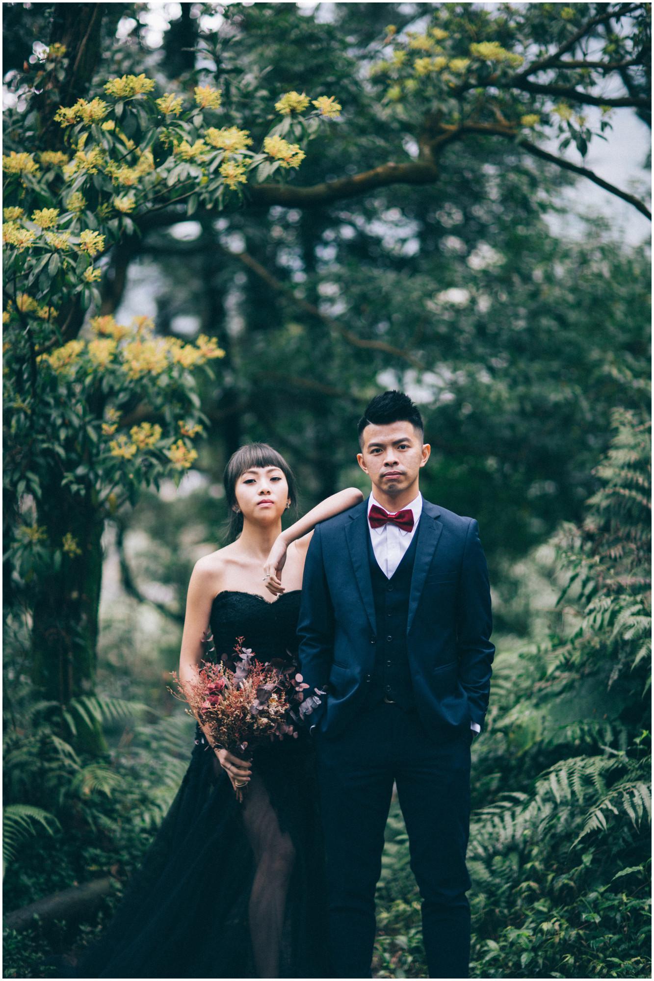 黑森林 / 冷水坑 / 花卉試驗中心 / 自然系婚紗 / 素人婚紗