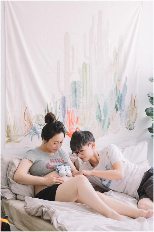 板橋孕期寫真 / 台北孕婦寫真 / 妊娠寫真 / 清新自然  / 親子寫真 / 素人寫真 / 寵物寫真 / 柴犬 / 貓咪 / 孕婦禮服 / 孕婦婚紗