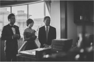 怡婷 / 婚禮紀錄 / 平面攝影 / 流水席 / 全家福 / 自宅