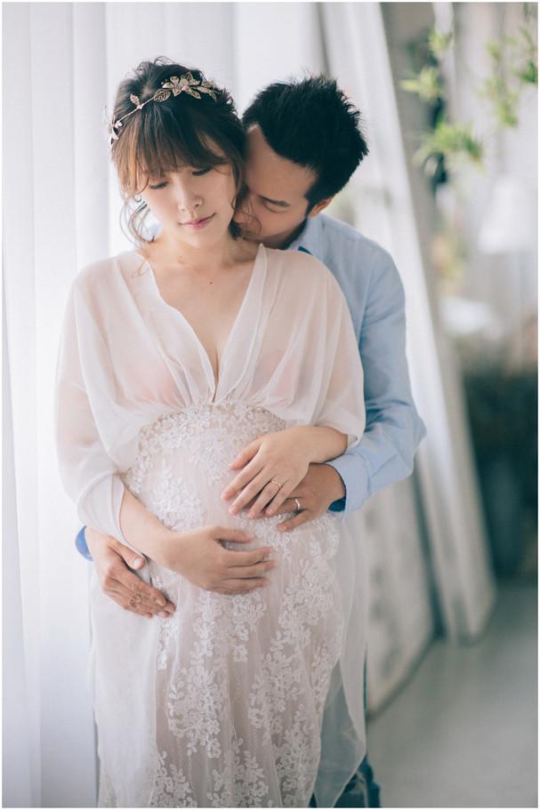 孕期寫真 / 妊娠寫真 / 清新自然  / 素人寫真