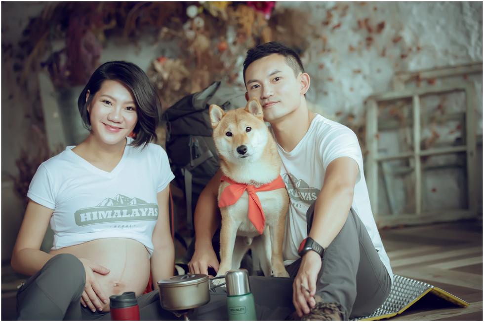 板橋孕婦寫真 / 台北孕婦寫真 / 妊娠寫真 / 懷孕 / 個性寫真 / 雜誌風 / 素人寫真 / 親子寫真 / 全家福 / 寵物寫真