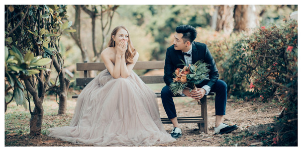 花卉試驗中心 / 冷水坑 / 寵物婚紗 / 自然捲棚拍 / 素人寫真