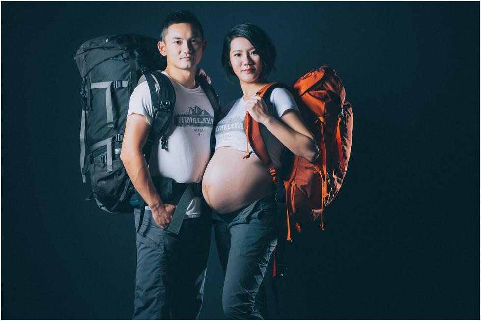 孕期寫真 / 妊娠寫真 / 素人寫真 / 登山寫真