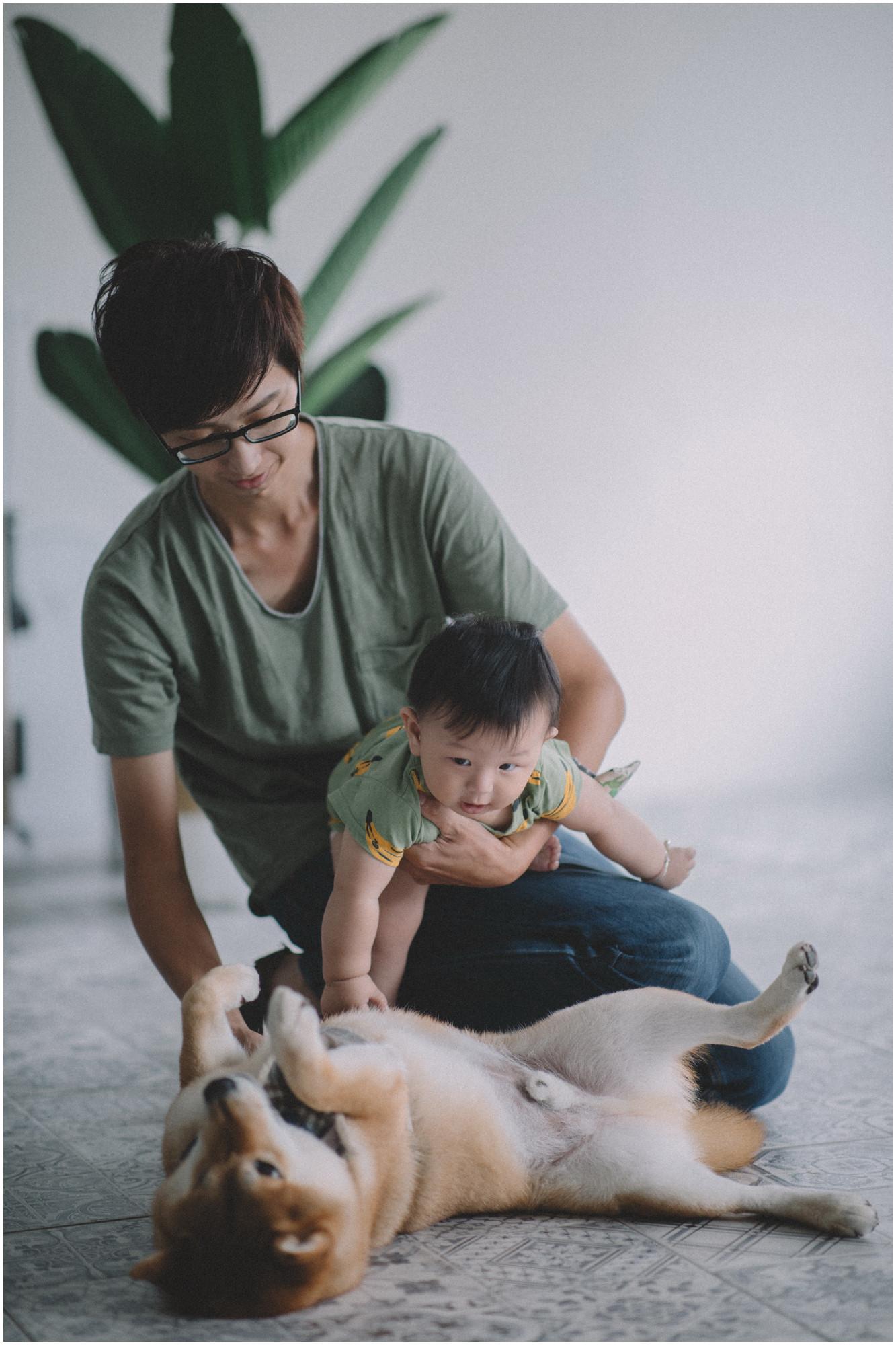 親子寫真 / 全家福 / 華山藝文特區 / 寵物寫真 / 素人寫真