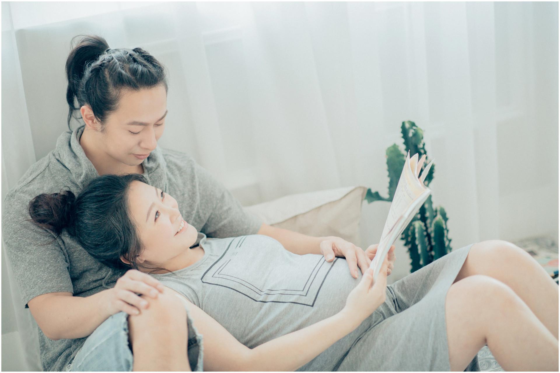 孕期寫真 / 妊娠寫真 / 清新自然 / 寵物寫真 / 素人寫真