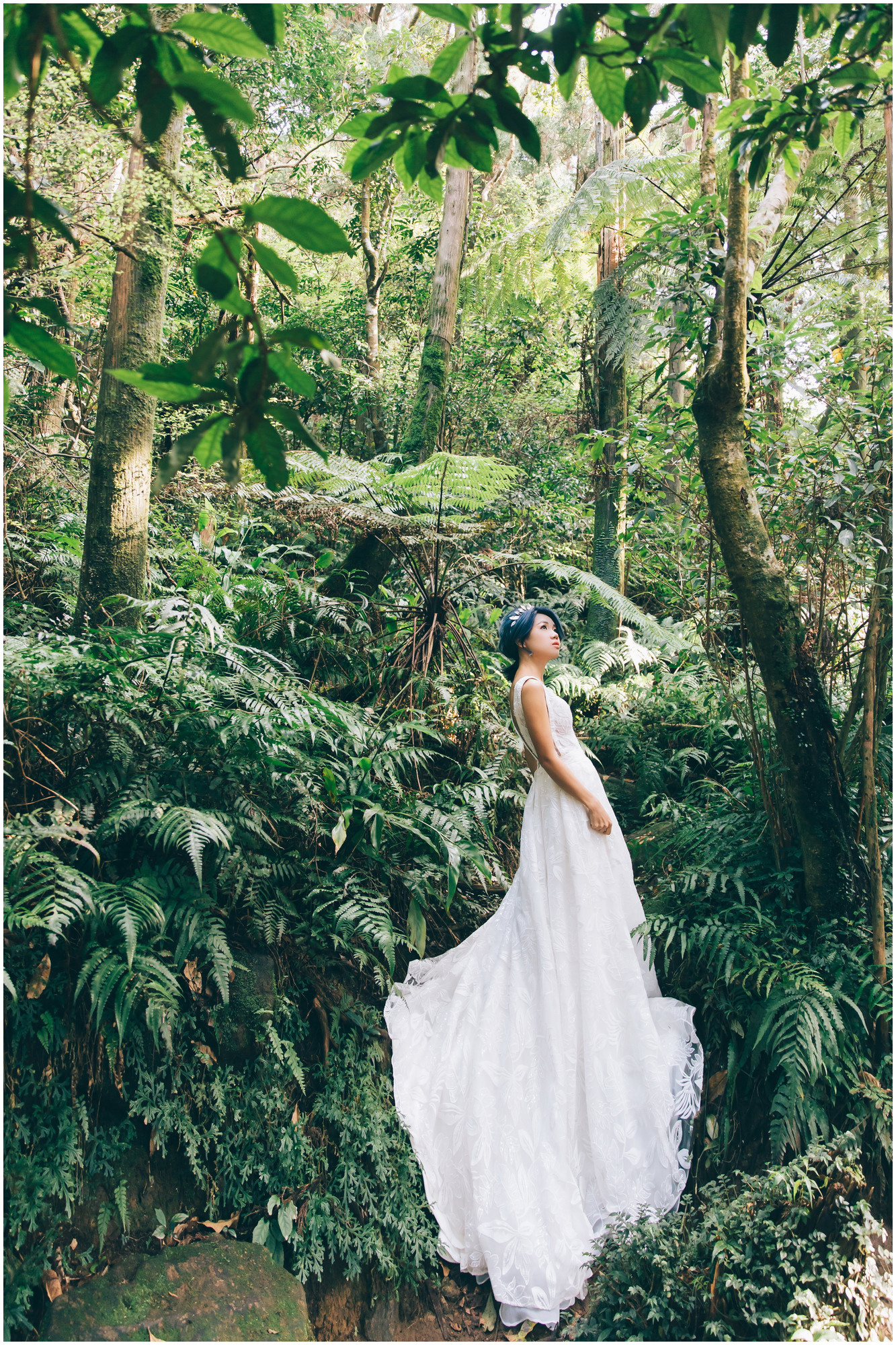 花卉試驗中心 / 黑森林 / 寵物婚紗 / 自然捲棚拍 / 素人寫真