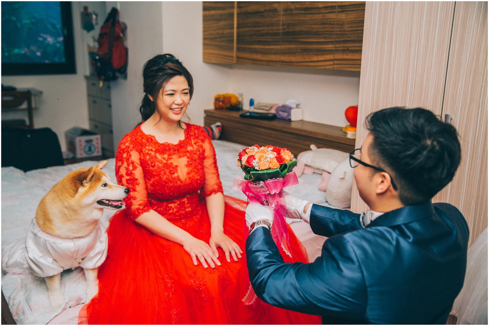 婚禮紀錄 / 平面攝影 / 訂婚 / 結婚 / 類婚紗 / 中崙華漾