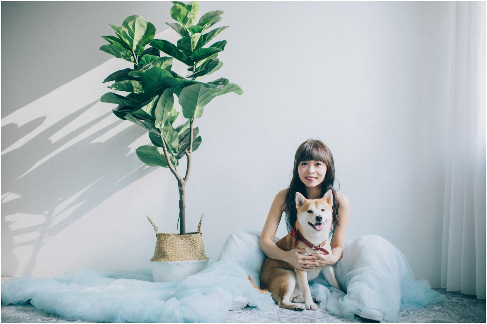 寵物婚紗 / 黑森林 / 華山藝文特區 / 擎天崗 / 自然系婚紗 / 素人婚紗