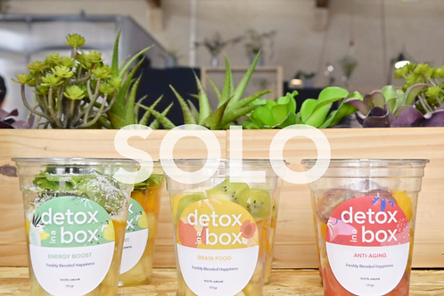 Solo Box (pack 3 smoothies)