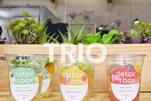 Trio Box (9 smoothies)
