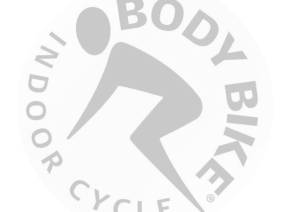 Body Bike Logo Silver, Left