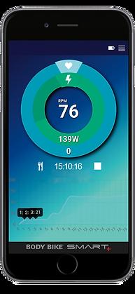 Body Bike Indoor Cyclig App Blue Screen