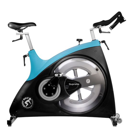 Body Bike SUPREME Light Blue Clear Hatch