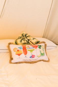 Pineapple Tent Pillows
