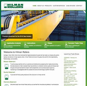 Hilman Rollers website