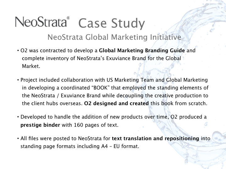 NeoStrata Case Study