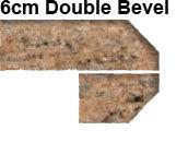 6cm Double Bevel