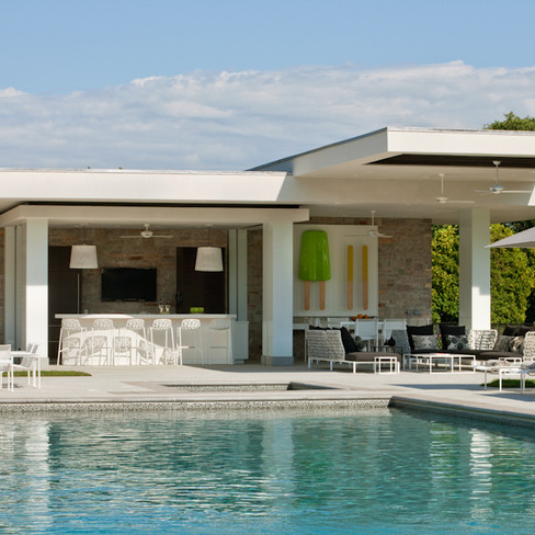 Pool House, Private Residence, Deal, NJ