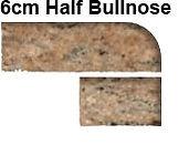 6cm Half Bullnose