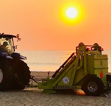 Beach Rake - common to most NJ Beaches