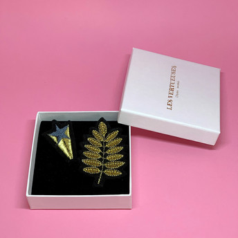"""Broches """"Fil d'or"""""""