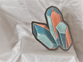Patch brodé Cristaux