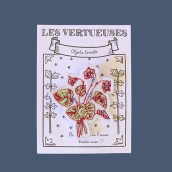 Broche Violettes byzantines