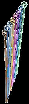 niobium eye pin