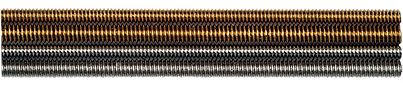 threaded rods brass stainless
