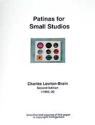 patinas for small studios charles lewton brain