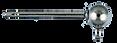 titanium ball loop earring